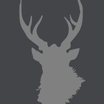 Mysterious stag by Caretta