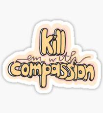 Compassion Sticker