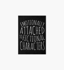 Lámina rígida emocionalmente apegado a personajes de ficción #blanco