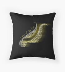 I open at the close Throw Pillow