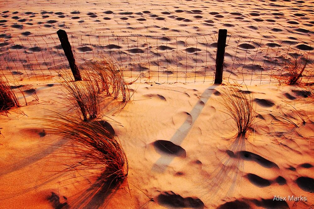 Moliet Sunset by Alex Marks