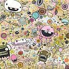 OCD#1 - Obsessive Compulsive Doodle by jimbradshaw