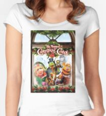 the muppet christmas carol Women's Fitted Scoop T-Shirt