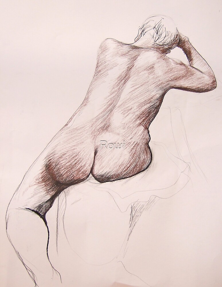 life drawing 5 by Rowi
