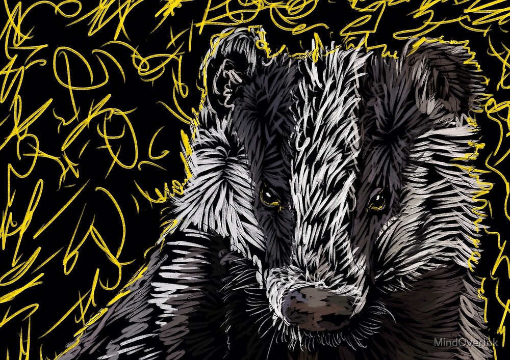 Badger Magic by MindOverInk