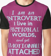 introvert, fictional worlds, fictional characters #2 Graphic T-Shirt