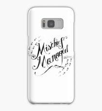 Mischief Managed Samsung Galaxy Case/Skin