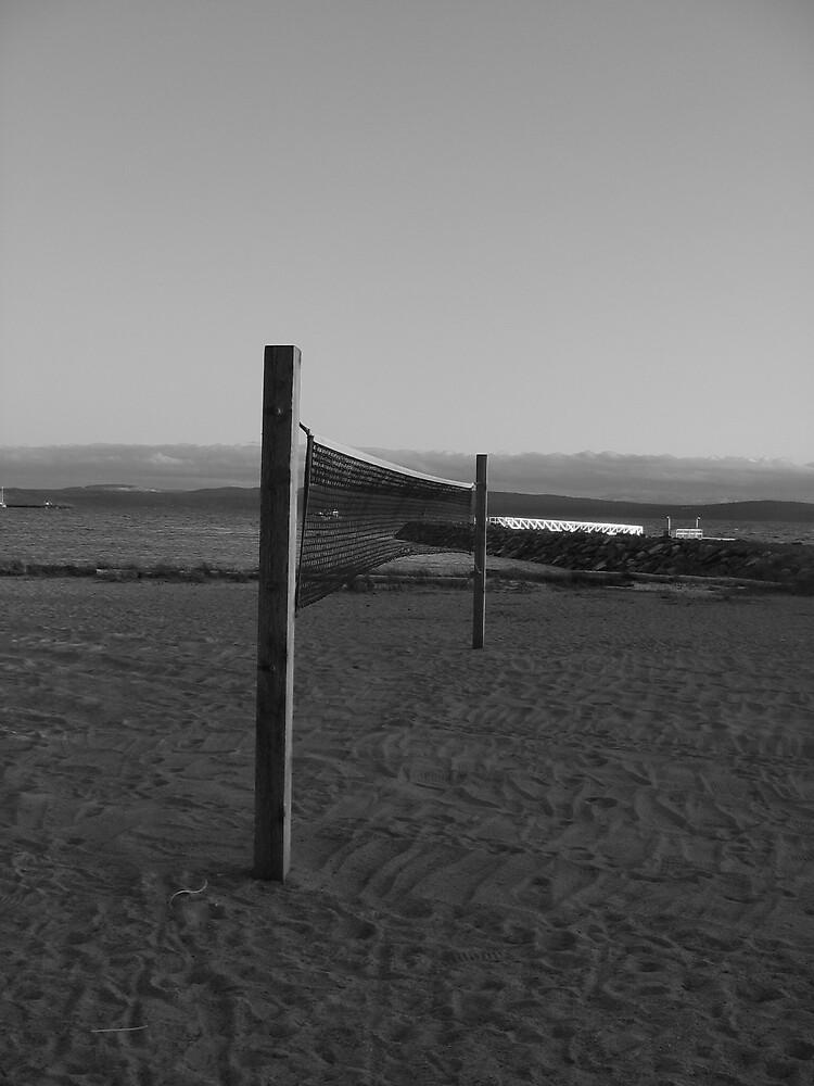 Net on the Beach by WhiteRabbit13