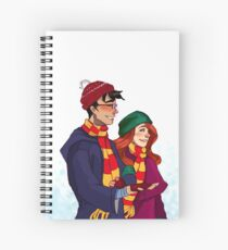 James and Lily Spiral Notebook