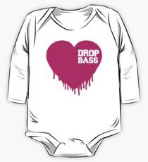 Body de manga larga para bebé Drop Bass Love