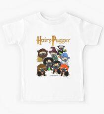 Haariger Pugger Kinder T-Shirt