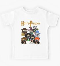 Hairy Pugger Kids T-Shirt