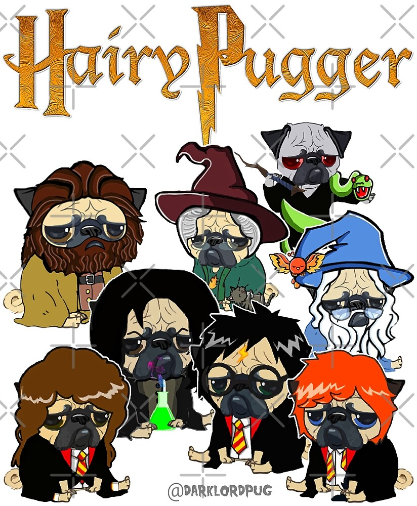 Hairy Pugger by darklordpug