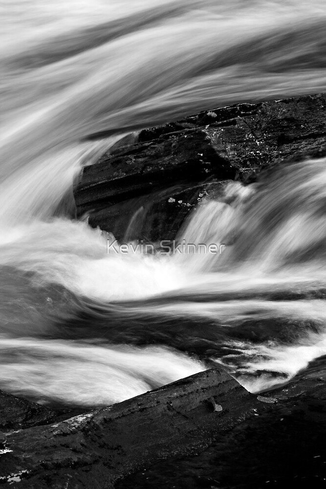 Glen Orchy Waters 8 by Kevin Skinner