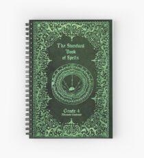 Cuaderno de espiral El libro estándar de hechizos