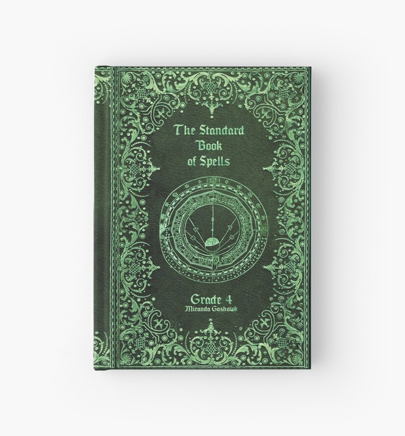 u0026quot the standard book of spells u0026quot  hardcover journals by mai