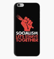 Socialism - Let's Starve Together iPhone Case