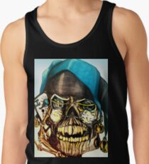 Original Joker Skull Drawing Tank Top