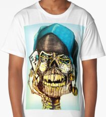 Original Joker Skull Drawing Long T-Shirt