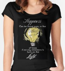 Dumbledore Quote Women's Fitted Scoop T-Shirt