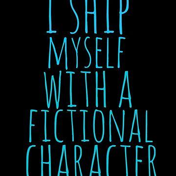 me envío con un personaje de ficción de FandomizedRose