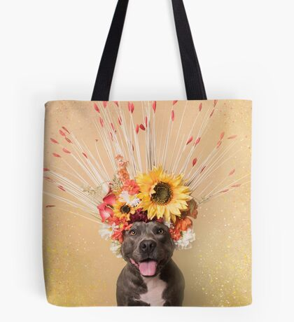 Flower Power, Holiday Tote Bag