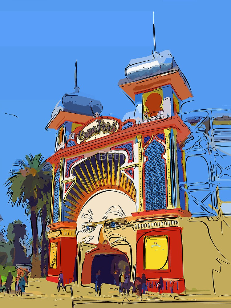 Luna Park Melbourne by Beth A