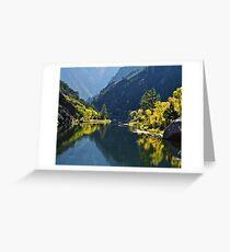 Gunnison River Greeting Card