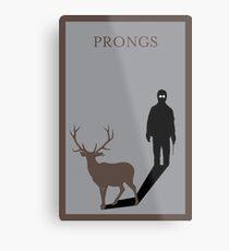 Prongs Metal Print