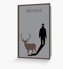 Prongs Greeting Card