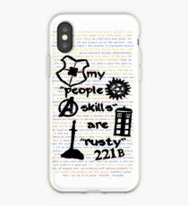 """Meine """"People Skills"""" sind """"Rostig"""" iPhone-Hülle & Cover"""