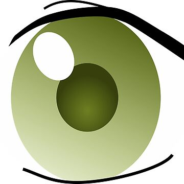 Manga Eye left. by Claudiocmb