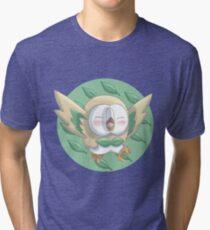 Rowlet - Pokemon Tri-blend T-Shirt