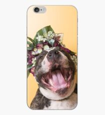 Flower Power, Luther laughing iPhone Case