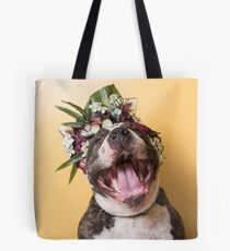Flower Power, Luther laughing Tote Bag