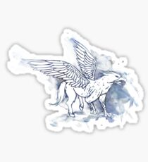 Buckbeak the Hippogriff Sticker