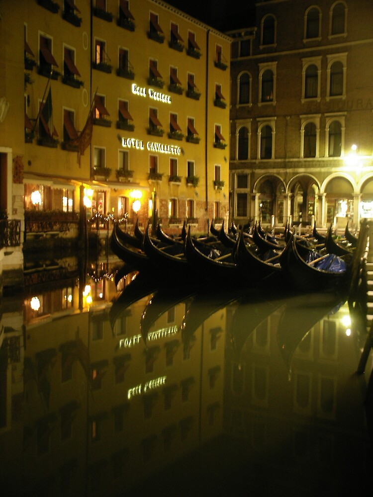 Venetian Parking Lot by satchmoid