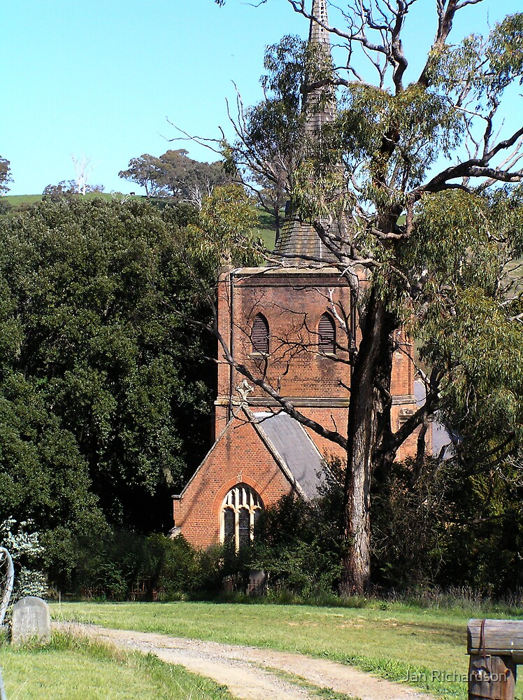 St Pauls Anglican Church, Carcoar, NSW by Jan Richardson