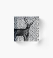 Deer Acrylic Block