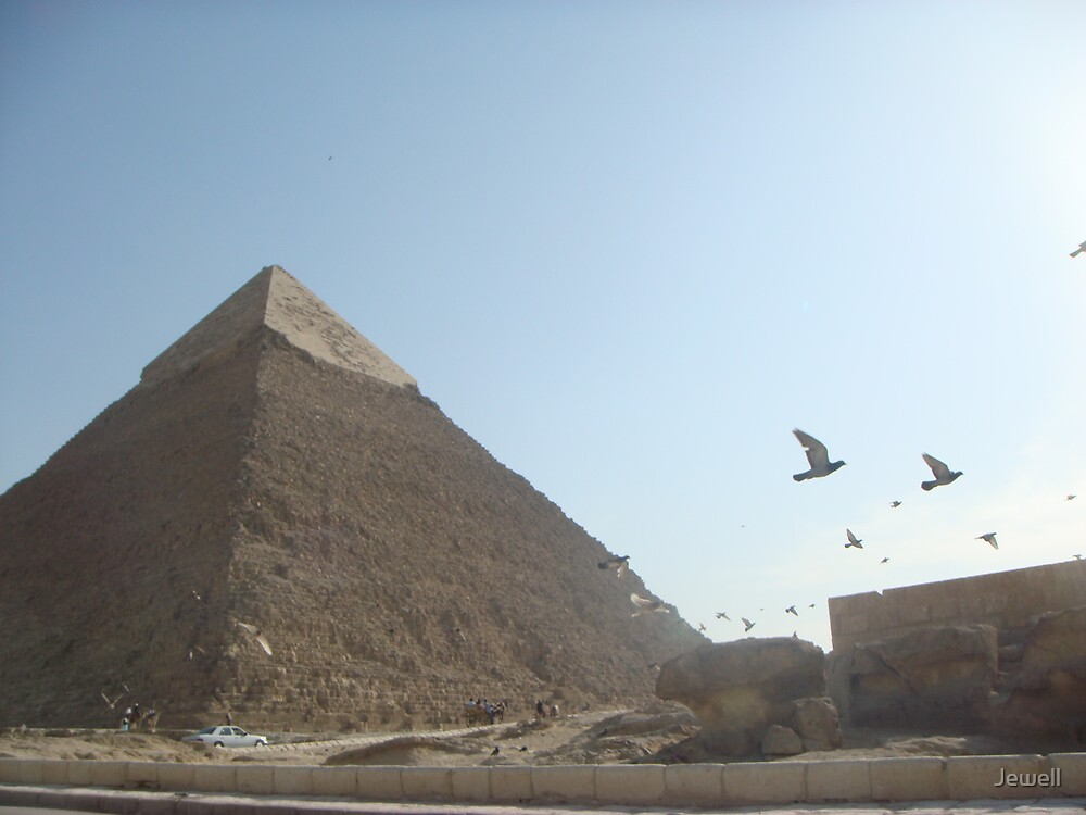 Great Pyramids II by Jewell