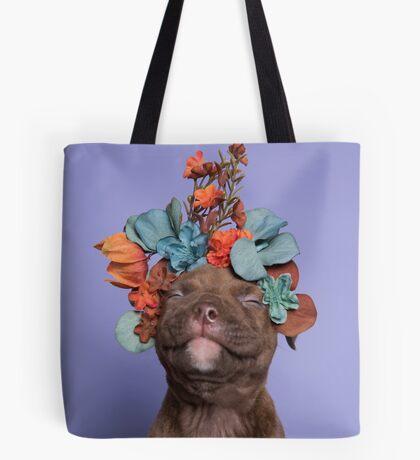 SweetPea, Flower Power Tote Bag