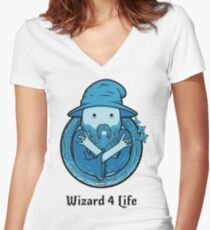 Wizard 4 Life Women's Fitted V-Neck T-Shirt