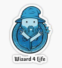 Wizard 4 Life Sticker