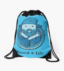 Wizard 4 Life Drawstring Bag