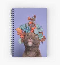 SweetPea, Flower Power Spiral Notebook