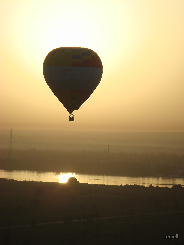Nile Sunrise Balloon by Jewell