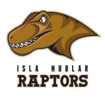 Isla Nublar Raptors by Gigabyte