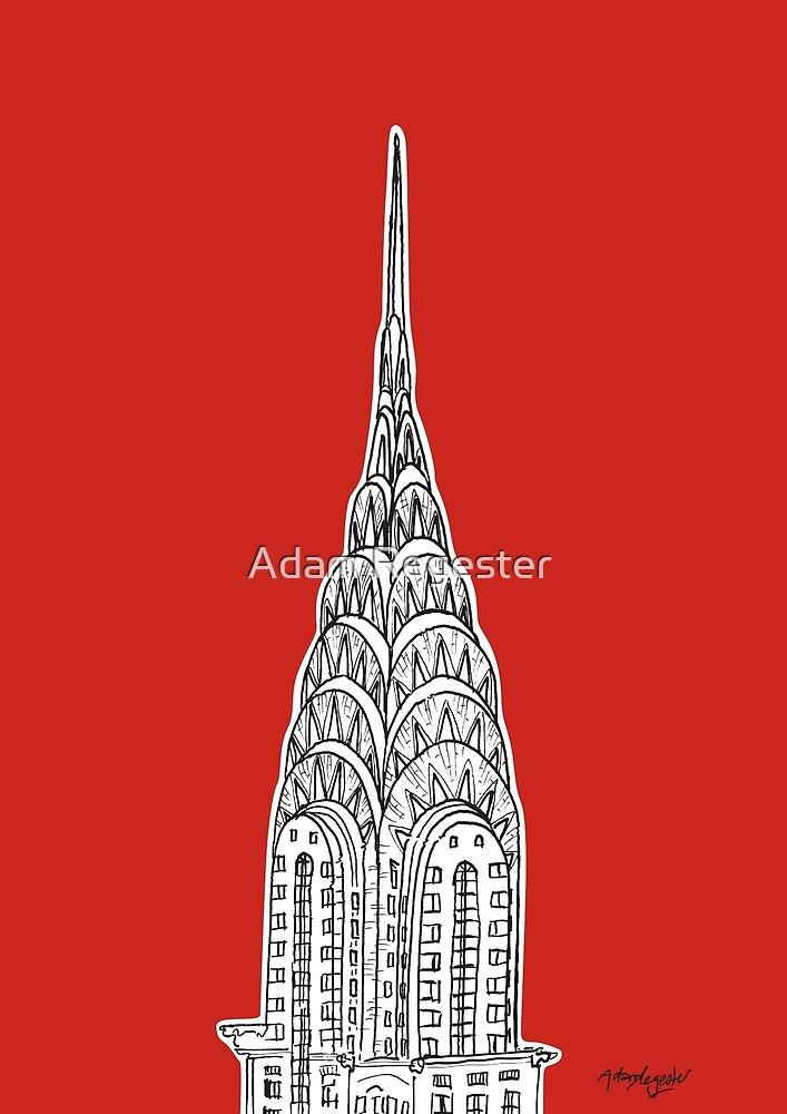 Chrysler Building  by Adam Regester