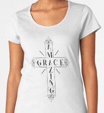 Amazing Grace - Christian Design Women's Premium T-Shirt