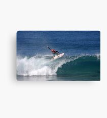 Slater / Pipeline 2007 Canvas Print